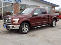 2015 Ford F-150 SuperCab Lariat 4 Wheel Drive With