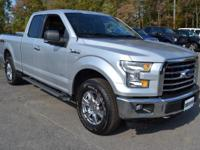This 2015 Ford F-150 4dr - features a 3.5L V6 CYLINDER