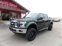 Options:  2015 Ford F-150 Rough Country Lift!