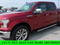 Recent Arrival! Red 2015 Ford F-150 4WD. ***SERVING