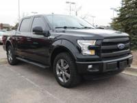 Lariat trim. Ford Certified. FUEL EFFICIENT 23 MPG