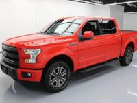 2015 Ford F-150 with EcoBoost 2.7L Turbocharged V6