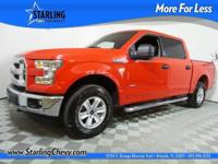 F-150 XLT, 4D SuperCrew, 2.7L V6 EcoBoost, 6-Speed