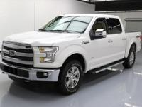 2015 Ford F-150 with 2.7L EcoBoost Turbocharged V6