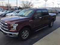 This outstanding example of a 2015 Ford F-150 Lariat is