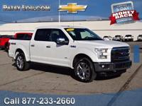 2015 F-150 Lariat - Clean CARFAX One Owner **4WD**Rear