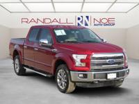 Ford Certified, 4WD, 20 Alloy wheels, ABS brakes,