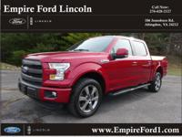 Options:  2015 Ford F-150 Lariat Sport|4X4 Lariat 4Dr