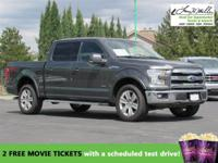This 2015 Ford F-150 will sell fast -4X4 4WD ABS Brakes
