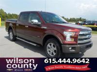 2015 Ford F-150 Lariat 2.7L V6 EcoBoost Ruby Red