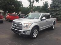 This 2015 Ford F-150 in Gray features: EcoBoost 3.5L V6