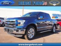 This BLUE 2015 Ford F-150 Lariat might be just the