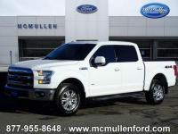 Certified. 2015 Ford F-150 Lariat 4D SuperCrew 4WD, ABS