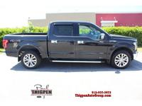 CARFAX One-Owner. Tuxedo Black Metallic 2015 Ford F-150