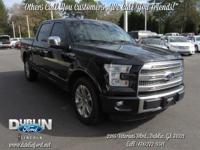 2015 FORD F150 PLATINUM *BLUETOOTH MP3*, *STILL UNDER