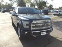 CARFAX One-Owner. Clean CARFAX. Gray 2015 Ford F-150