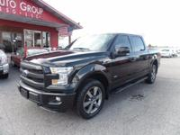 Options:  2015 Ford F-150 Navigation! Sport Package!