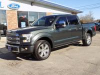 2015 Ford F-150 SuperCrew Cab Platinum 4 Wheel Drive