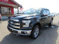 Options:  2015 Ford F-150 Navigation! Panoramic Roof!