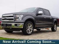 2015 Ford F-150 Lariat in Magnetic Metallic, 4WD, This