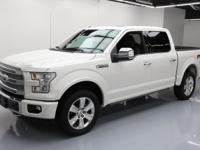 2015 Ford F-150 with Platinum Series,FX4 Off-Road