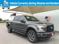 Step into the 2015 Ford F-150! Ensuring composure no