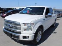 F-150 Platinum, 4D SuperCrew, 5.0L V8 FFV, 6-Speed