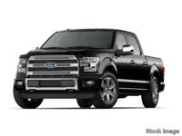 Get ready to go for a ride in this 2015 Ford F-150