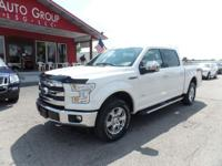Options:  2015 Ford F-150 Loaded With Innovation Power