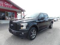 Options:  2015 Ford F-150 Sport Package Navigation!