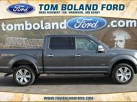 2015 Ford F-150 Platinum ABS brakes, Alloy wheels,