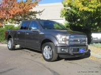 2015 F-150 Ecoboost Platinum Super Crew 4x4 in metallic