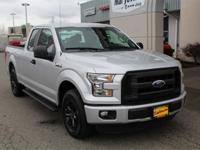 This 2015 Ford F-150 XL 101A One-Owner CARFAX Nicely