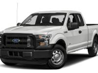 CARFAX One-Owner. 2015 Ford F-150 XL RWD 6-Speed