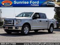 Our 2015 Ford F-150 XLT SuperCrew 4X2 in Ingot Silver