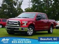 STOKES HONDA CARS OF BEAUFORT. 2015 Ford F-150 Crew Cab