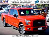 Nice truck! Hurry in! This attractive 2015 Ford F-150