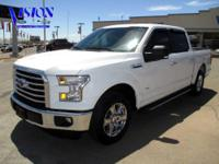 Take command of the road in the 2015 Ford F-150! Roomy,