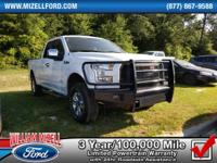 This 2015 Ford F-150 4WD SuperCab 145 XL is proudly