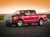 2015 Ford F-150 XLT 4WD Recent Arrival! Red 6-Speed