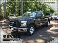 2015 Ford F-150 XL and 2.7L EcoBoost V6. Equipment