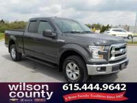 2015 Ford F-150 XLT 5.0L V8 FFV Guard Metallic 15/21mpg