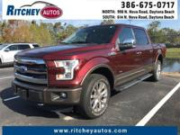 WELL MAINTAINED 2015 FORD F-150 XL 4WD CREW CAB**CLEAN