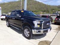 Tuxedo Black Metallic 2015 Ford F-150 XLT 4WD 6-Speed