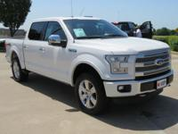 CARFAX One-Owner. Platinum 2015 Ford F-150 4WD 6-Speed