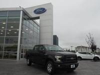 Tuxedo Black Metallic 2015 Ford F-150 XL 4WD 6-Speed