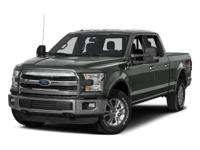 This 2015 Ford F-150 4WD SuperCrew 145 XL is proudly