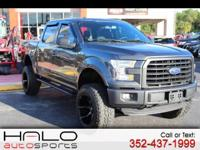2015 FORD F-150 XLT CREW CAB 4X4 - ROUGH COUNTRY LIFT