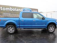 2015 Ford F-150 XLT Blue Flame Metallic ABS brakes,