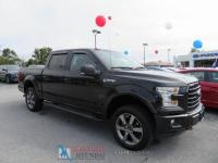 Black 2015 Ford F-150 XLT Sport 4x4 4WD 6-Speed